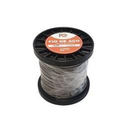 Fio de Aço Inox FC para Cerca Elétrica 0,45mm - 0,5kg
