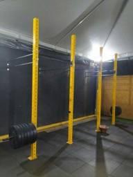 Rack gaiola pra crossfit