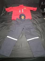 Título do anúncio: Farda bombeiro civil Pra hoje