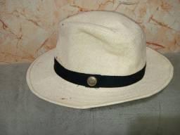 Chapéu de palha fina Panamá legítimo número 57, relíquia