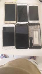 Vários celulares pra  peças