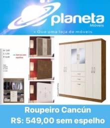 Título do anúncio: ROUPEIRO CANCUN PROMO AQUÁRIOS