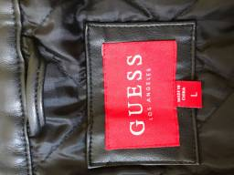 Jaqueta de couro importada Guess