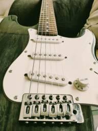 Guitarra Condor Strato - RX-20 Regulada cordas novas Daddario 010