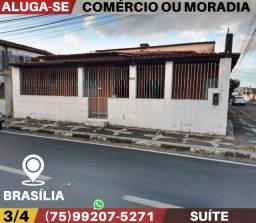 Aluga-Se Comércio ou Moradia-Bairro Brasília-Feira de Santana-Ba