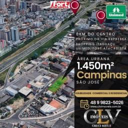 Terreno à venda em São José/SC