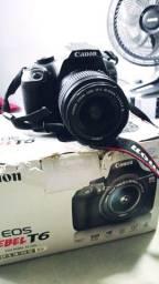 Título do anúncio: DSLR Canon Rebel T6