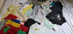 Lote de roupas menino com muitas peças