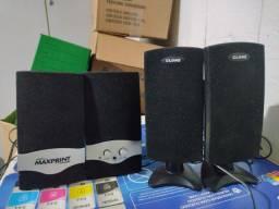 Kit com caixas de som