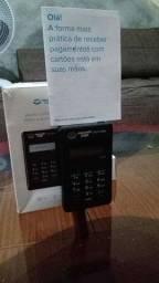 Título do anúncio: Maquininha cartão de crédito/ débito point mini d-150