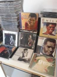 Cds Emilio Santiago / Coletânia com 8 cds incluindo Aquarelas Brasileira 4,5,6