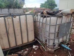 Reservatório gradeado 1000 litros
