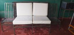 Título do anúncio: Sofá com mesa lateral