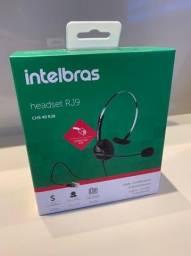 Headset mono RJ9 Intelbras
