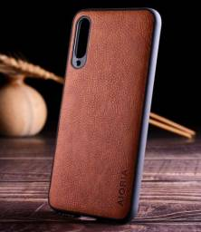 Capa Case em Couro para Xiaomi Mi A3