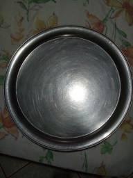 Bandejas redondas de alumínio