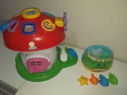 Brinquedos Educacionais, Colchão Infantil e Piniquinho p. desfralde.