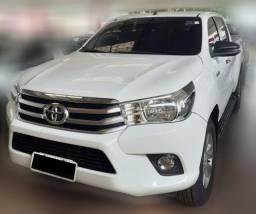 Toyota Hilux SR 2018 4x4 Diesel, Automatica, Branca