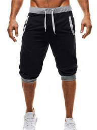 Bermuda Jogger Moletom Careca (sem felpa) de Qualidade Masculina