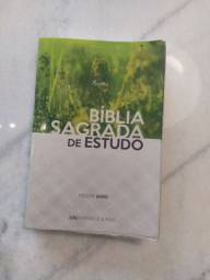 Bíblia sagrada de estudo