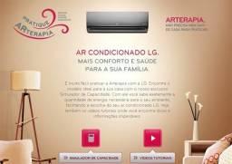 Instalação ar condicionado.