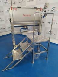 Misturador Industrial de Pós Ribbon Sample Blender - Melhor Custo Benefício do Mercado