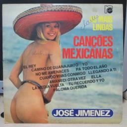 Lp Disco de Vinil José Jimenez - As Mais Lindas Canções Mexicanas