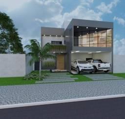 Casa a venda Tres Lagoas, alto padrão condomínio Quarta Lagoa.
