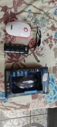 2 mouse +otg tipo c +Hub estensor