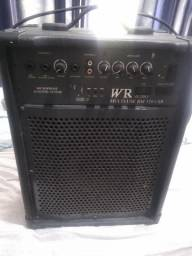 Caixa Amplificada multuso WR 320 usb
