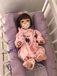 Título do anúncio: Boneca Bebê Reborn novíssima !!!