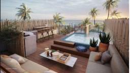 Título do anúncio: 5ll= Pe na areia, rooftop poesia com piscina privativa.