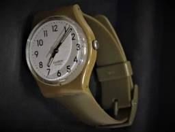 Relógio Swatch Suiss Verde Original Unissex - Caixa de Polipropileno