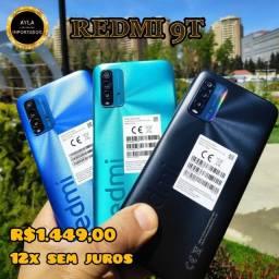 REDMI 9T 128GB (12X SEM JUROS )