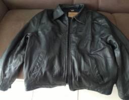 Jaqueta de couro Guess original.