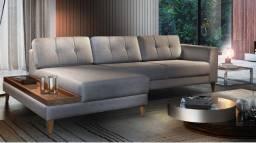 Sofá lindo, sofá especial direto da fábrica novo, qualidade impar linha A em estofados