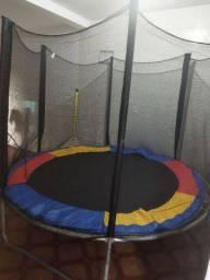 Pula-pula trampolim 8ft medida 244