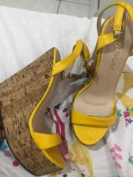 Sapato plataforma 36