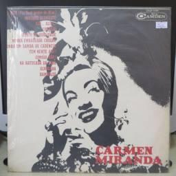 Lp Disco de Vinil Carmen Miranda (1965)
