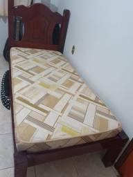 cama solteiro - obs: colchão não incluso
