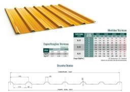 Telhas Aluzinco / Galvalume - A partir de R$ 20,60 por metro linear /