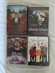 Lote com 10 filmes em dvd;