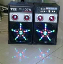 Vendo 2 caixas de som amplificada