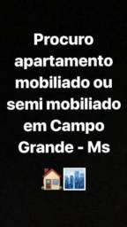 Procuro apartamento para alugar em Campo Grande