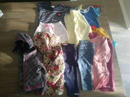 Lote de roupas menina 9 meses