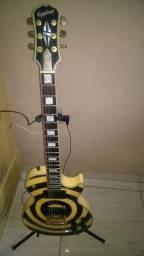 Guitarra Epiphone Zakk Wylde Signatura Captacao EMG Passiva- Guitarra Made in Korea