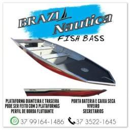 Barco fish bass 500 brazil nautica - 2019