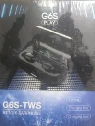 Fone de ouvido bluetooth - G6S Case Digital