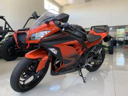 Kawasaki Ninja 300 abs edição especial/ 7.800 km rodados - 2014