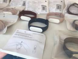 Adquira sua pulseira reserva de silicone original para xiaomi mi band 3 lacrada